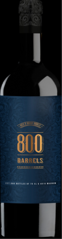 800 Barrels Terra Alta DO 14.5% Vol. 75cl