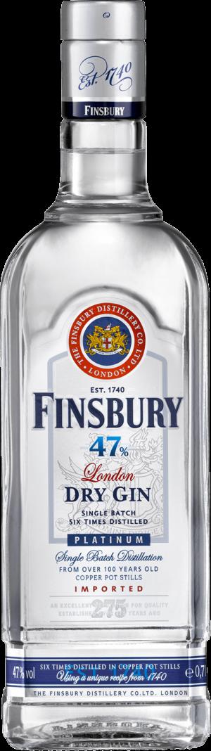 Gin Finsbury London Dry Gin Platinum 47% Vol. 70 cl