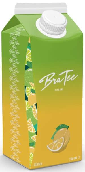 Bra Tee Zitrone 8 x 75 cl Tetra