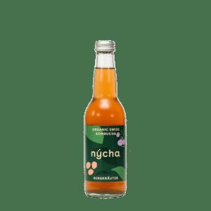 Nycha Kombucha Bergkäuter 24 x 33 cl EW Flasche
