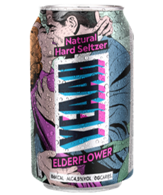 "YEAAH Hardseltzer ""Elderflower"" 4.5% Vol. 6 x 33cl Dose (ab Ende Mai verfügbar)"