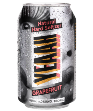 "YEAAH Hardseltzer ""Grapefruit"" 4.5% Vol. 6 x 33cl Dose (ab Ende Mai verfügbar)"
