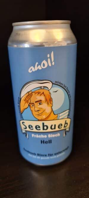 """Seebueb Hell """"Fräche Siech"""" Meilen 5,1% Vol. 24 x 44 cl Dose"""