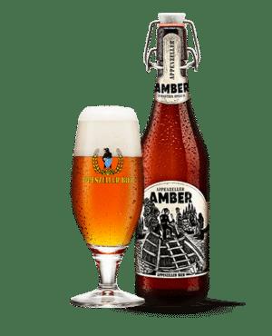Appenzeller Amber 4,8% Vol. 24 x 33 cl MW Flasche