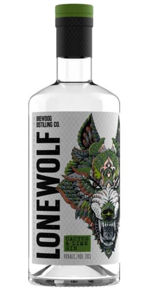 Gin Brewdog Lonewolf Cactus Lime 40% Vol. 70 cl