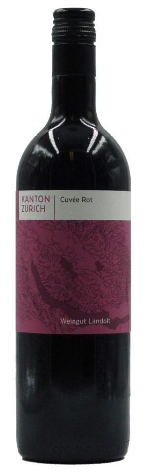 Kanton Zürich Cuvée rot 13.5% Vol. 75cl