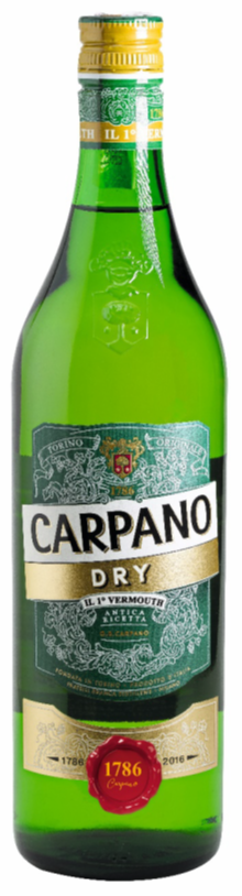 Carpano Dry 18% Vol. 75 cl Italien