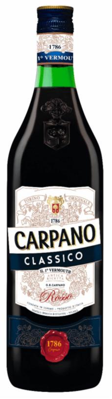 Carpano Classico Rosso 16% Vol. 75 cl Italien