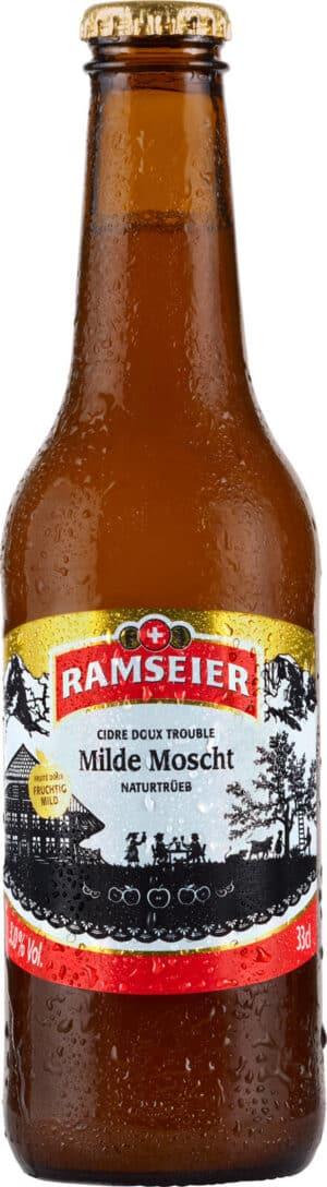 Ramseier Milde Moscht Naturtrüb 3.0% Vol. 6 x 33cl EW Flasche