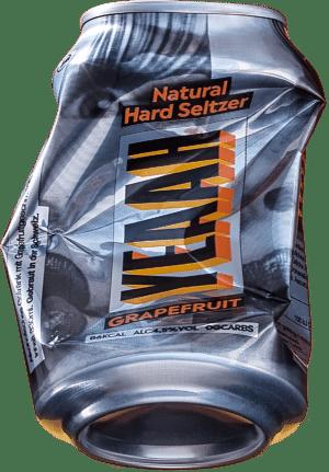 "YEAAH Hardseltzer ""Grapefruit"" 4.5% Vol. 6 x 33cl Dose"