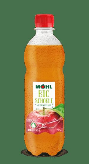 Möhl Bio Schorle 24 x 50cl PET
