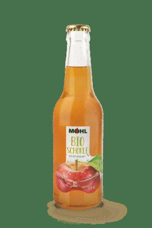 Möhl Bio Schorle 12 x 33 cl MW Flasche