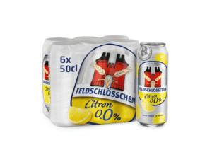 Feldschlösschen Alkoholfrei Zitrone 0,0% Vol. 24 x 50 cl Dose