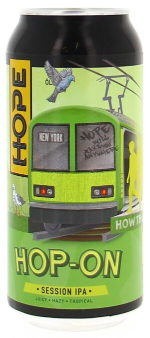 Hope Hop On 4.3% Vol. 24 x 44 cl Dose Irland