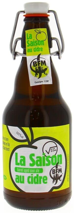 BFM La Saison au Cidre 6.7% Vol. 20 x 33cl MW Flasche