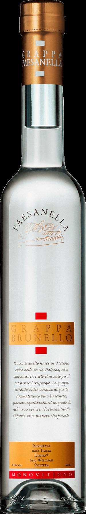 Grappa Brunello Paesanella 41% Vol. 50 cl