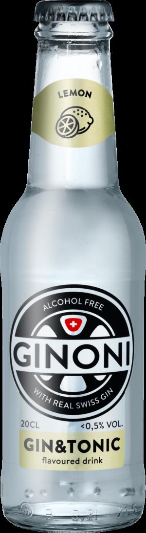 Ginoni Lemon alkoholfrei 0.5% Vol. 24 x 20cl