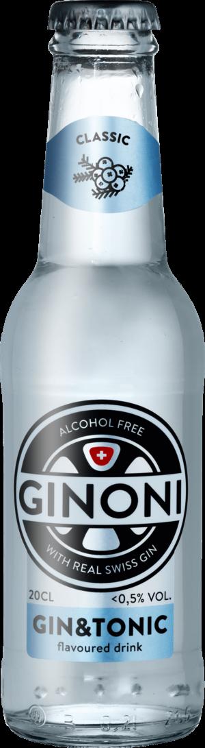 Ginoni Classic alkoholfrei 0.5% Vol. 24 x 20cl