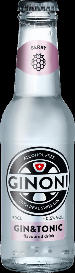 Ginoni Berry alkoholfrei 0.5% Vol. 24 x 20cl