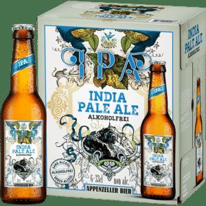 Appenzeller Indian Pale Ale alkoholfrei 6 x 33 cl EW Flasche