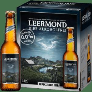 Appenzeller Leermond Bier alkoholfrei 6 x 33 cl EW Flasche
