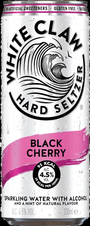 White Claw Hard Seltzer Black Cherry 4.5% Vol. 12 x 33cl Dose