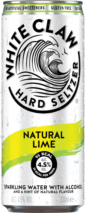 White Claw Hard Seltzer Lime 4.5% Vol. 12 x 33cl Dose