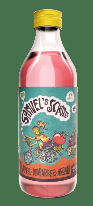 Samuel's  Schorle Apfel-Rhabarber-Aronia 24 x 33 cl EW Flasche