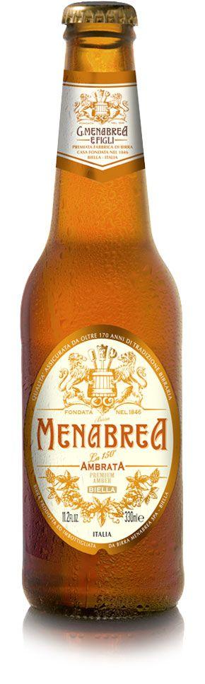MENABREA Ambrata 5.0% Vol. 24 x 33 cl EW Flasche Italien