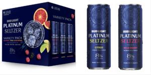 Bud Light Platinum Hard Seltzer Variety Pack 8% Vol. 24 x 35,5 cl Dosen Amerika