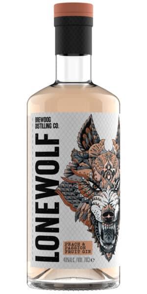 Gin Brewdog Lonewolf  White Peach & Passion 40% Vol. 70 cl