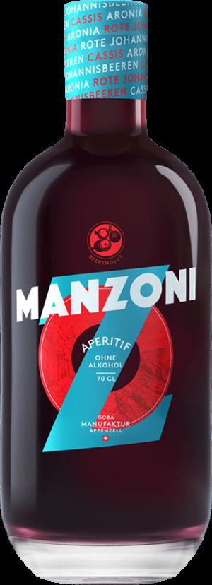 Manzoni Aperitif ohne Alkohol 0.0% Vol. 70cl