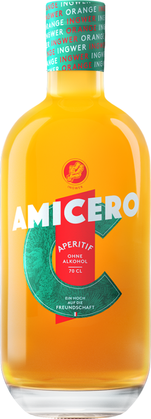 Amicero Aperitif ohne Alkohol 0.0% Vol. 70cl