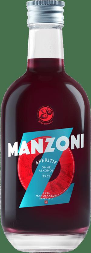 Manzoni Aperitif ohne Alkohol 0.0% Vol. 35cl