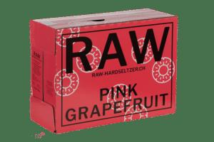 RAW Hardseltzer Pink Grapefruit 5.0% Vol. 10 x 33cl EW Flasche