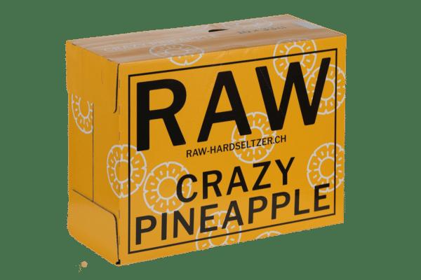 RAW Hardseltzer Pineapple 5.0% Vol. 10 x 33cl EW Flasche