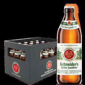 Schneider's Helles Landbier 20 x 50 cl MW Flasche