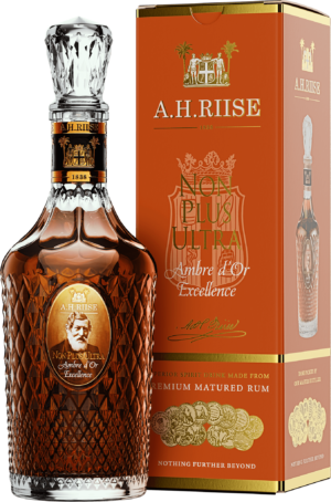 A.H. Riise Rum Non Plus Ultra Ambre d'Or Excellence 42% Vol. 70 cl ( Amerikanische Jungferninseln )