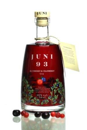 Juni 93 Blueberry & Cranberry Gin 40% Vol. 70 cl Schweiz