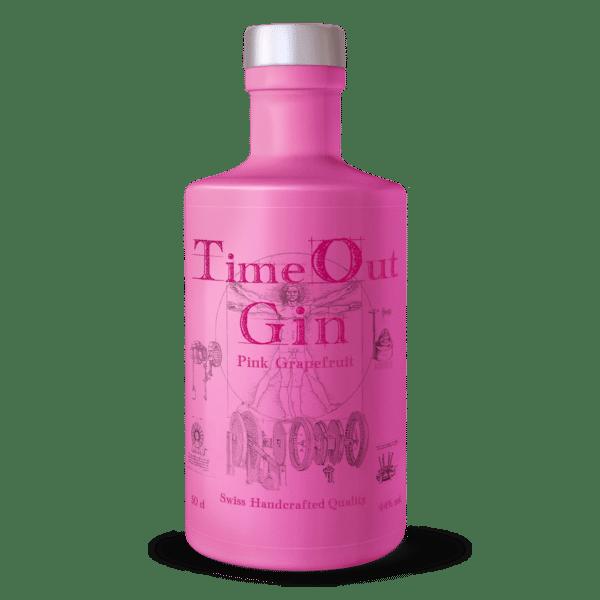 Gin Time Out Pink Grapefruit 44% Vol. 50cl Schweiz