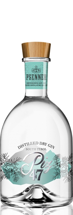 Psenner PIZ 47 Dry Gin 47% Vol. 70cl