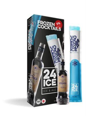 ICE24 Vodka&Energy 5% Vol. 5 x 6.5cl