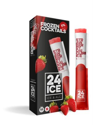 ICE24 Strawberry 5% Vol. 5 x 6.5cl