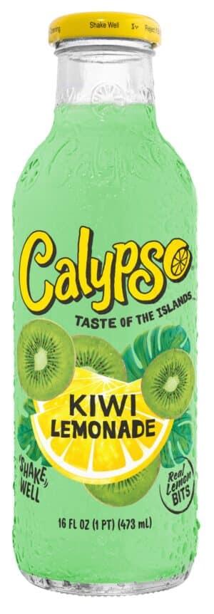 Calypso Kiwi Limonade 12 x 47,3 cl EW Glas
